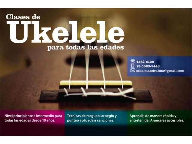 Clases de Ukelele en Capital Federal