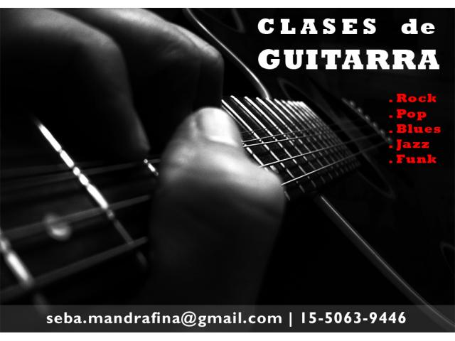 Clases de Guitarra en Capital