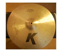 Compro Ride Zildjian Dark K Custom 20""